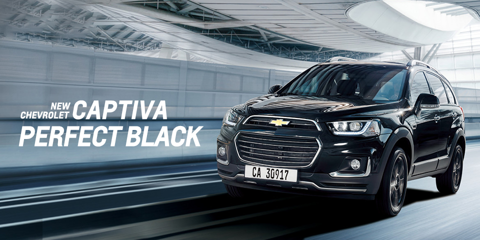 シボレー_NEW CHEVROLET CAPTIVA PERFECT BLACK 【限定車15台】